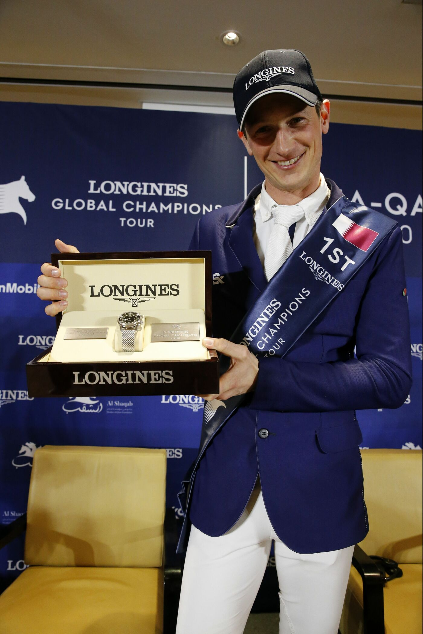 Longines Show Jumping Event: Doha hosted the world's best riders and horses for the launch of the new Longines Global Champions Tour season 4