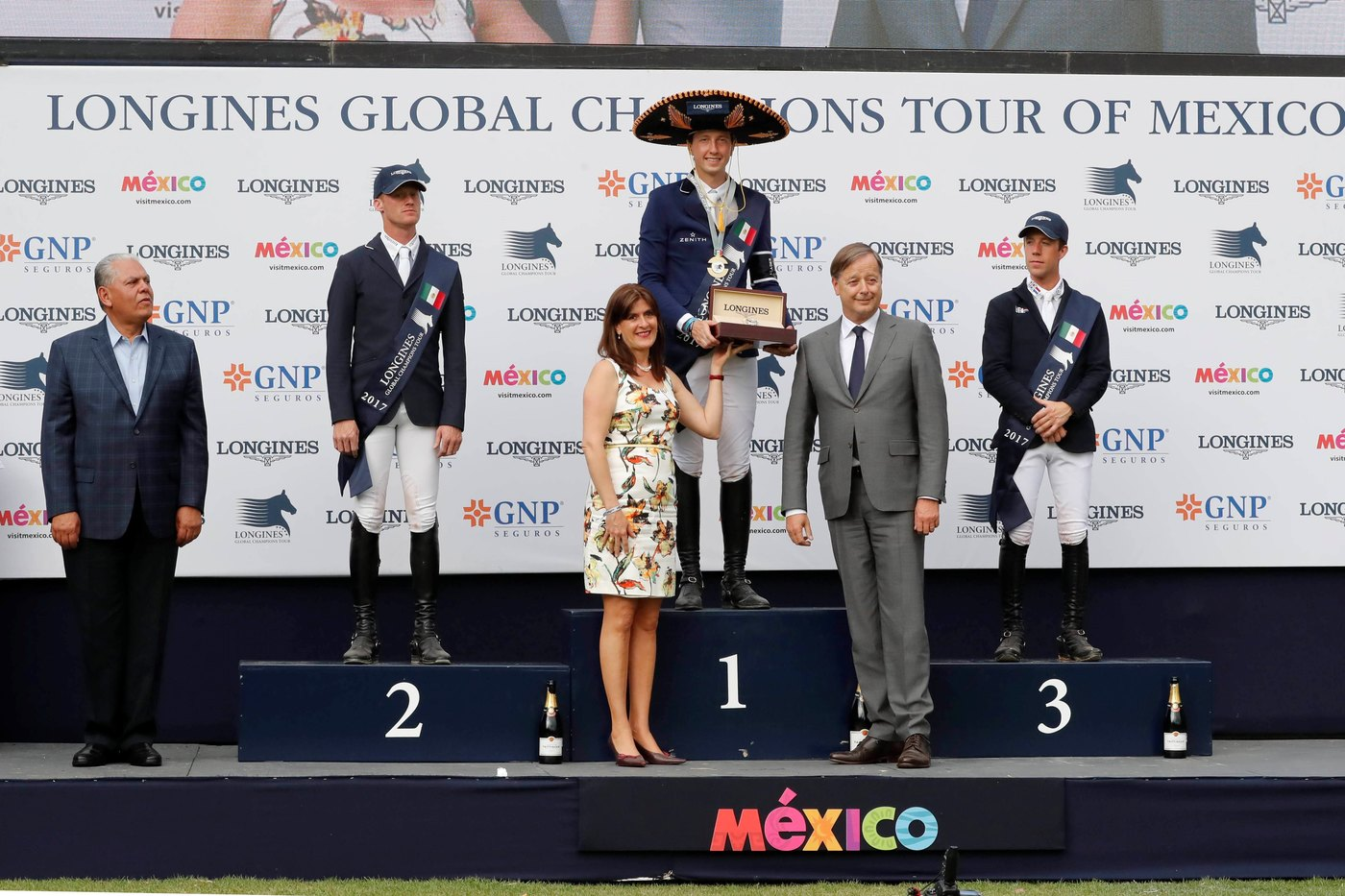 Longines Show Jumping Event: Andre Agassi attended the first leg of the 2017 Longines Global Champions Tour in Mexico City 3
