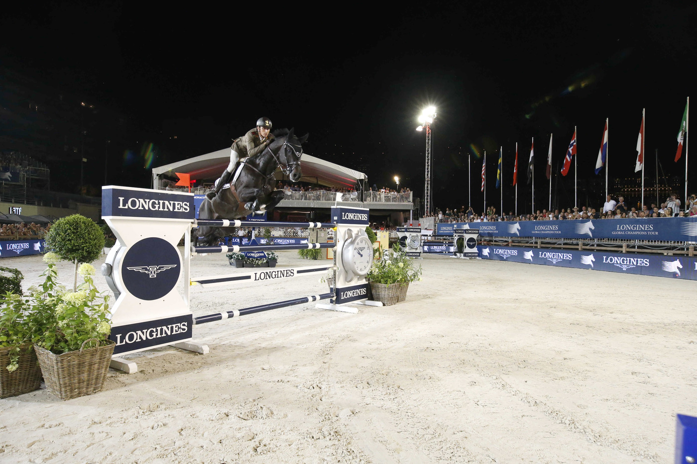 Longines Show Jumping Event: The riders of the Longines Global Champions Tour competed in the magnificent Monaco harbour 4