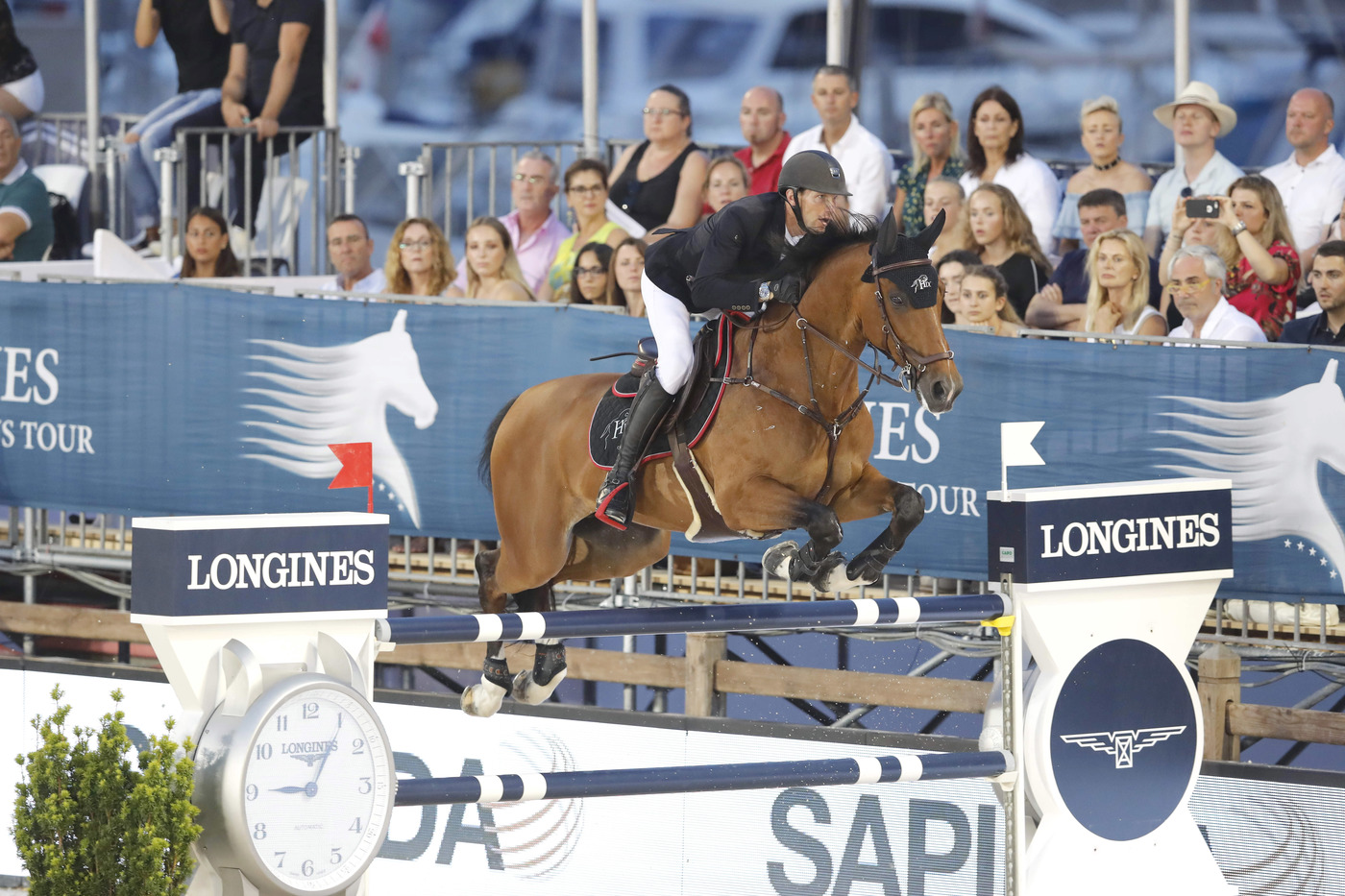Longines Show Jumping Event: The riders of the Longines Global Champions Tour competed in the magnificent Monaco harbour 6