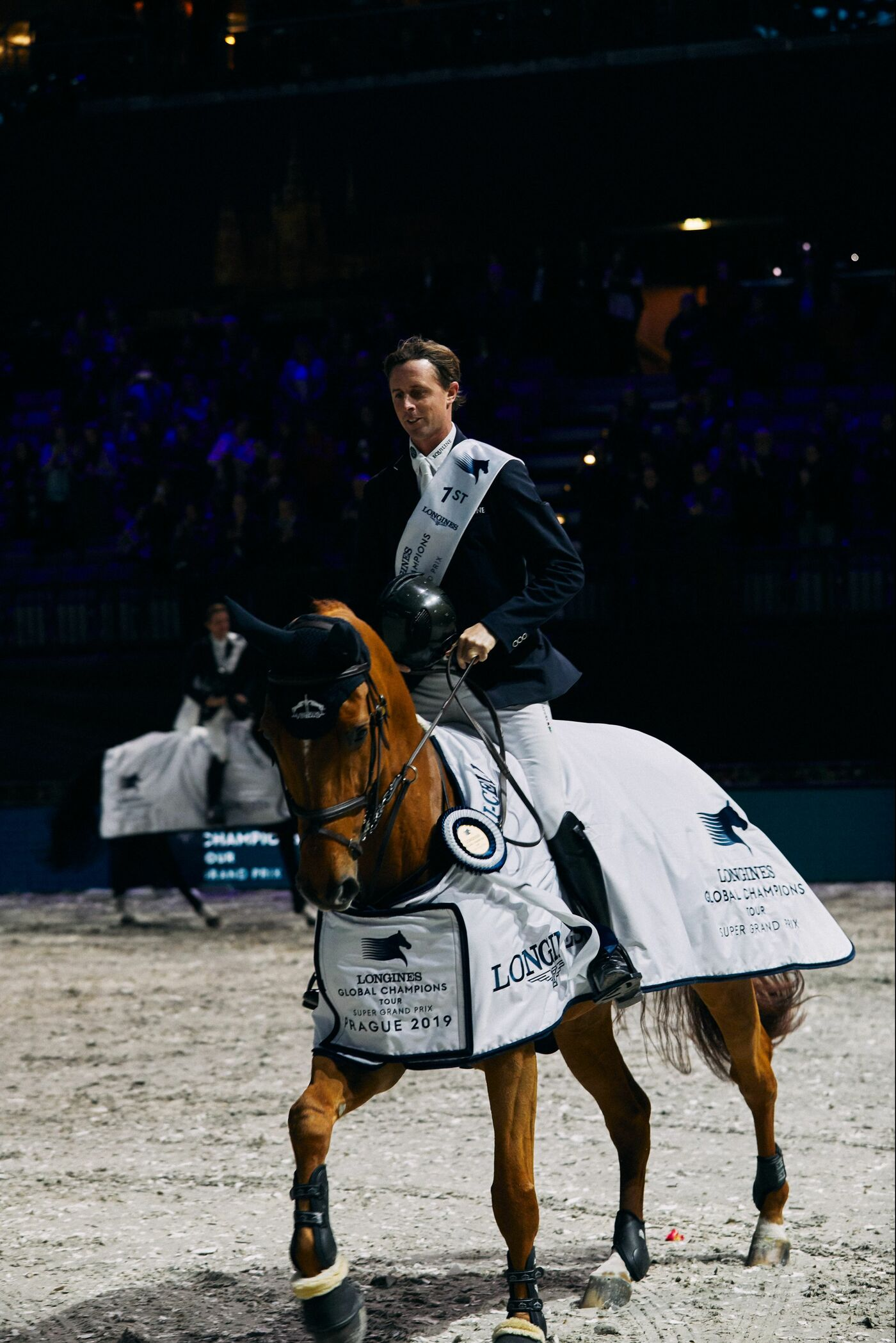 Longines Show Jumping Event: Mind-blowing victory of Ben Maher who becomes the champion of the Longines Global Champions Tour Super Grand Prix 6