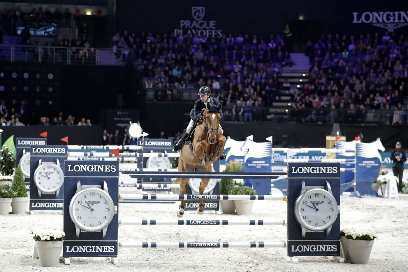 Longines Show Jumping Event: Mind-blowing victory of Ben Maher who becomes the champion of the Longines Global Champions Tour Super Grand Prix 4