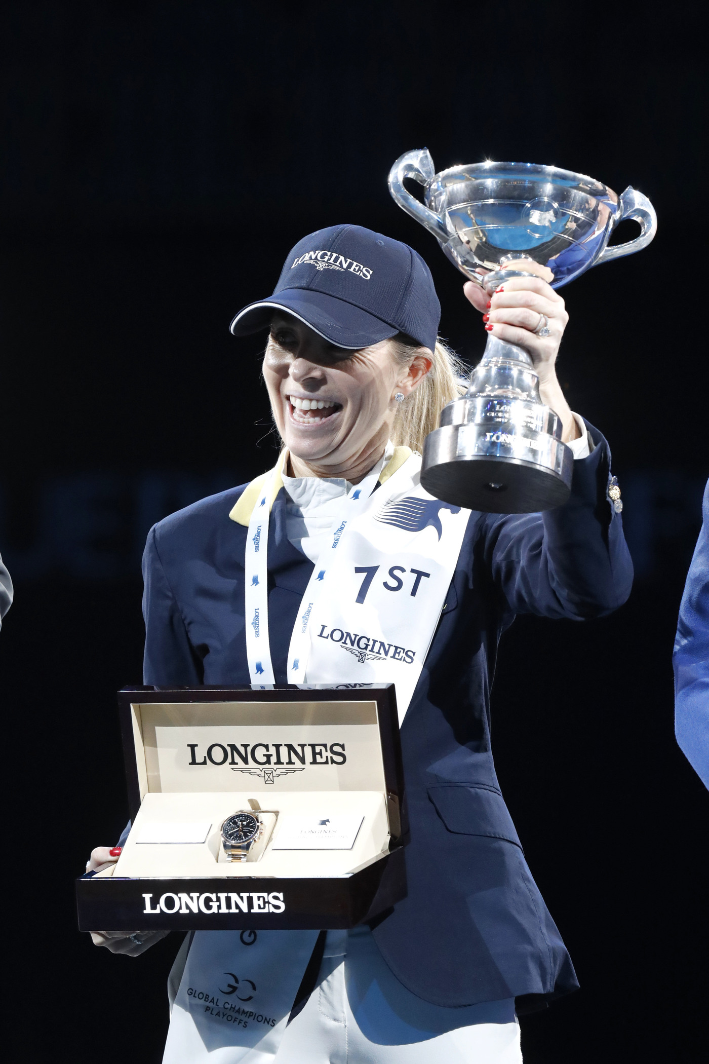 Longines Show Jumping Event: Fantastic victory of Edwina Tops-Alexander who becomes the Champion of the Longines Global Champions Tour Super Grand Prix 1