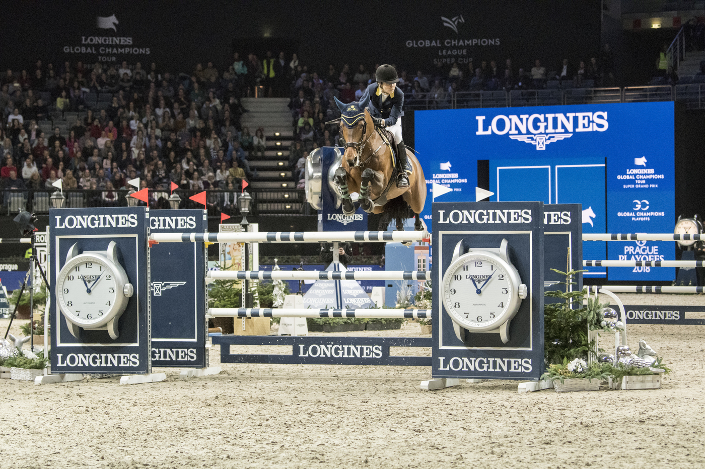 Longines Show Jumping Event: Fantastic victory of Edwina Tops-Alexander who becomes the Champion of the Longines Global Champions Tour Super Grand Prix 4