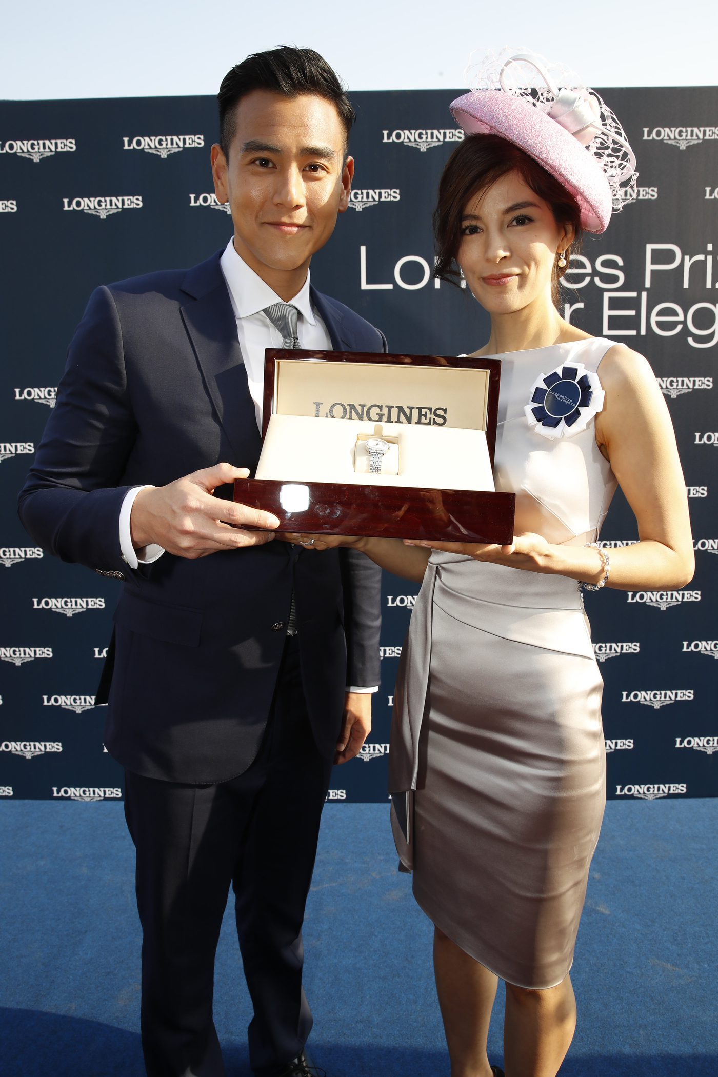 Longines Flat Racing Event: Longines welcomes its Ambassador of Elegance Eddie Peng at the 2017 Longines Hong Kong International Races 1