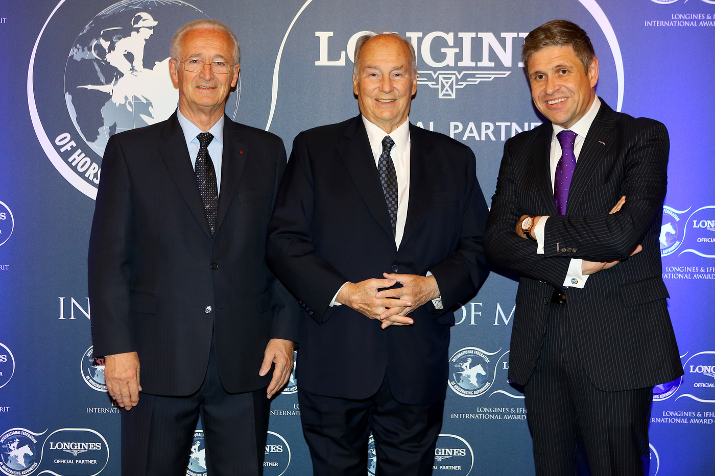 Longines Corporate Event: 2016 Longines and International Federation of Horseracing Authorities (IFHA) International Award of Merit goes to the Romanet Family, long renowned leaders in French and international world of horseracing 3