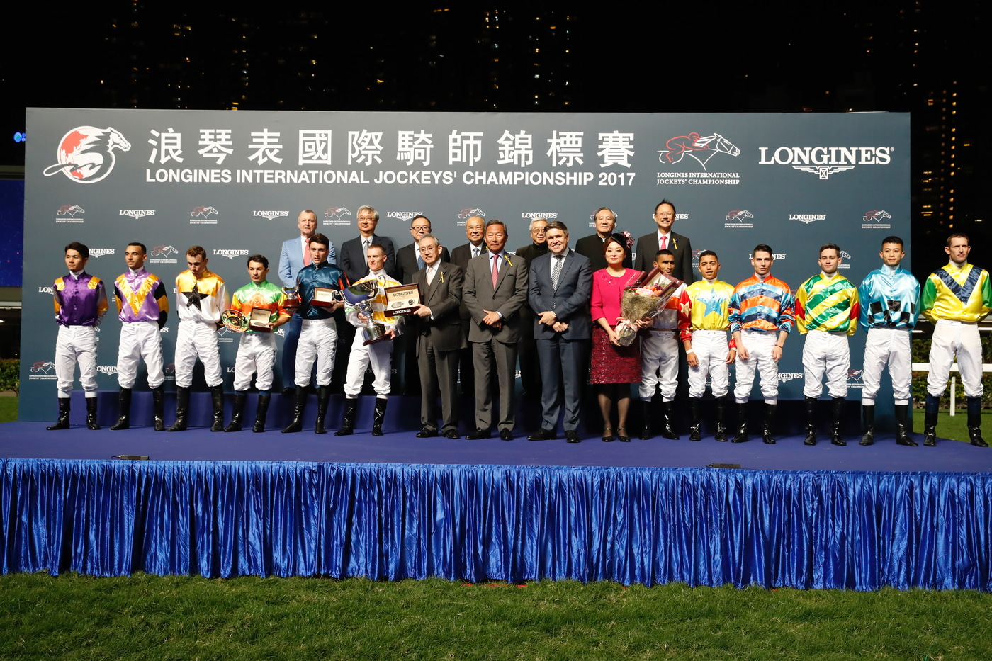Longines Flat Racing Event:  The Longines International Jockeys' Championship: a celebration of the world's best jockeys  5