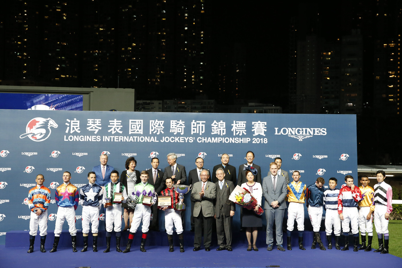 Longines Flat Racing Event: Silvestre de Sousa emerges victorious in the Longines International Jockeys' Championship in Hong Kong 7