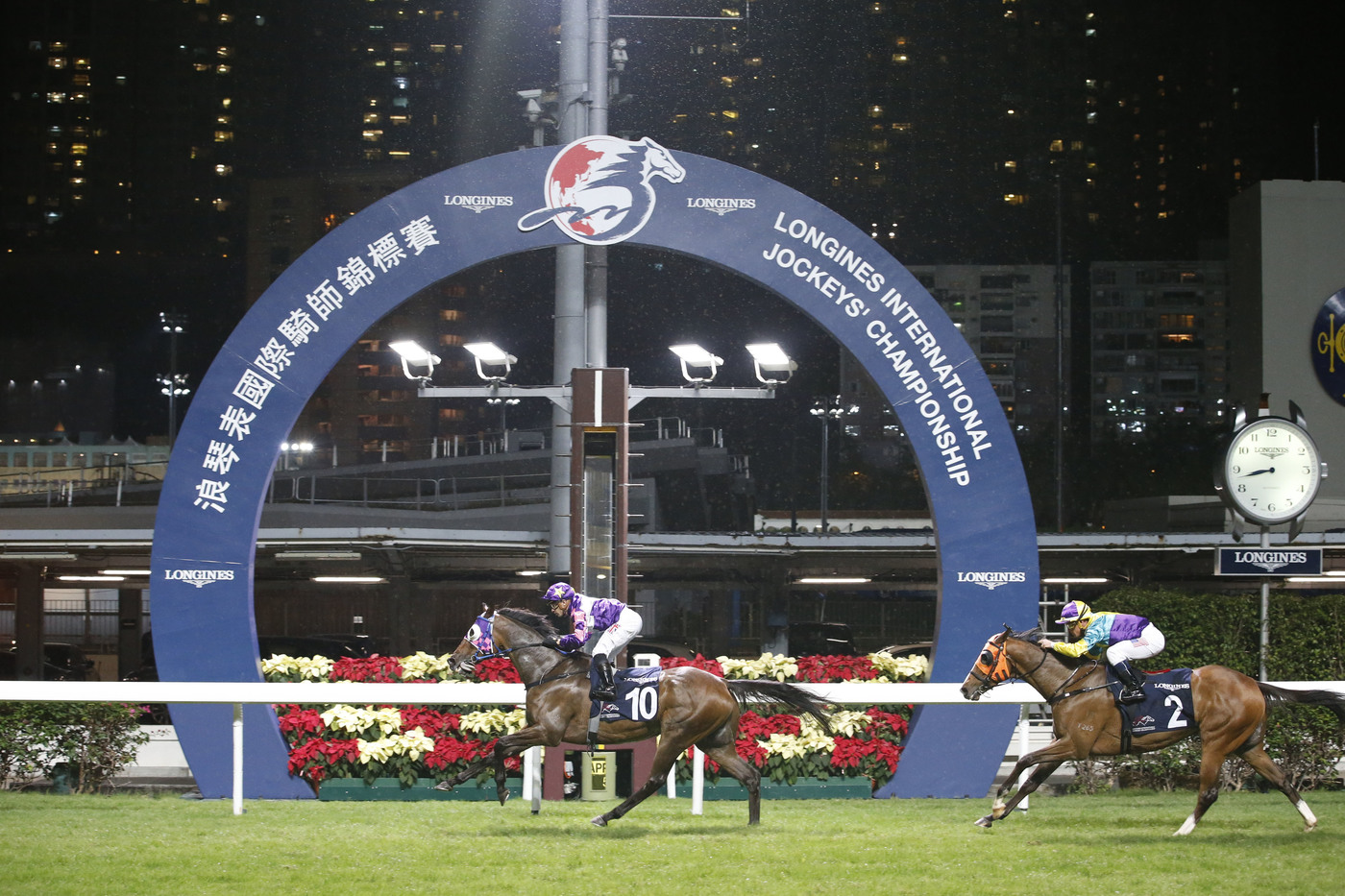 Longines Flat Racing Event: Silvestre de Sousa emerges victorious in the Longines International Jockeys' Championship in Hong Kong 3