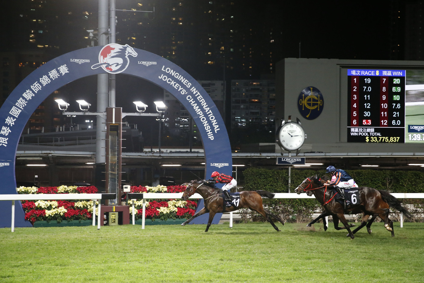 Longines Flat Racing Event: Silvestre de Sousa emerges victorious in the Longines International Jockeys' Championship in Hong Kong 4