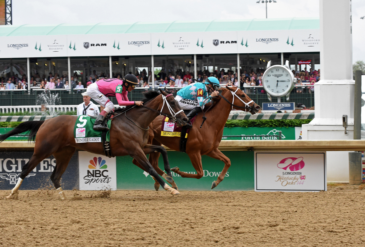Longines Flat Racing Event: Monomoy Girl's Longines Kentucky Oaks Victory celebrated  at Churchill Downs  7