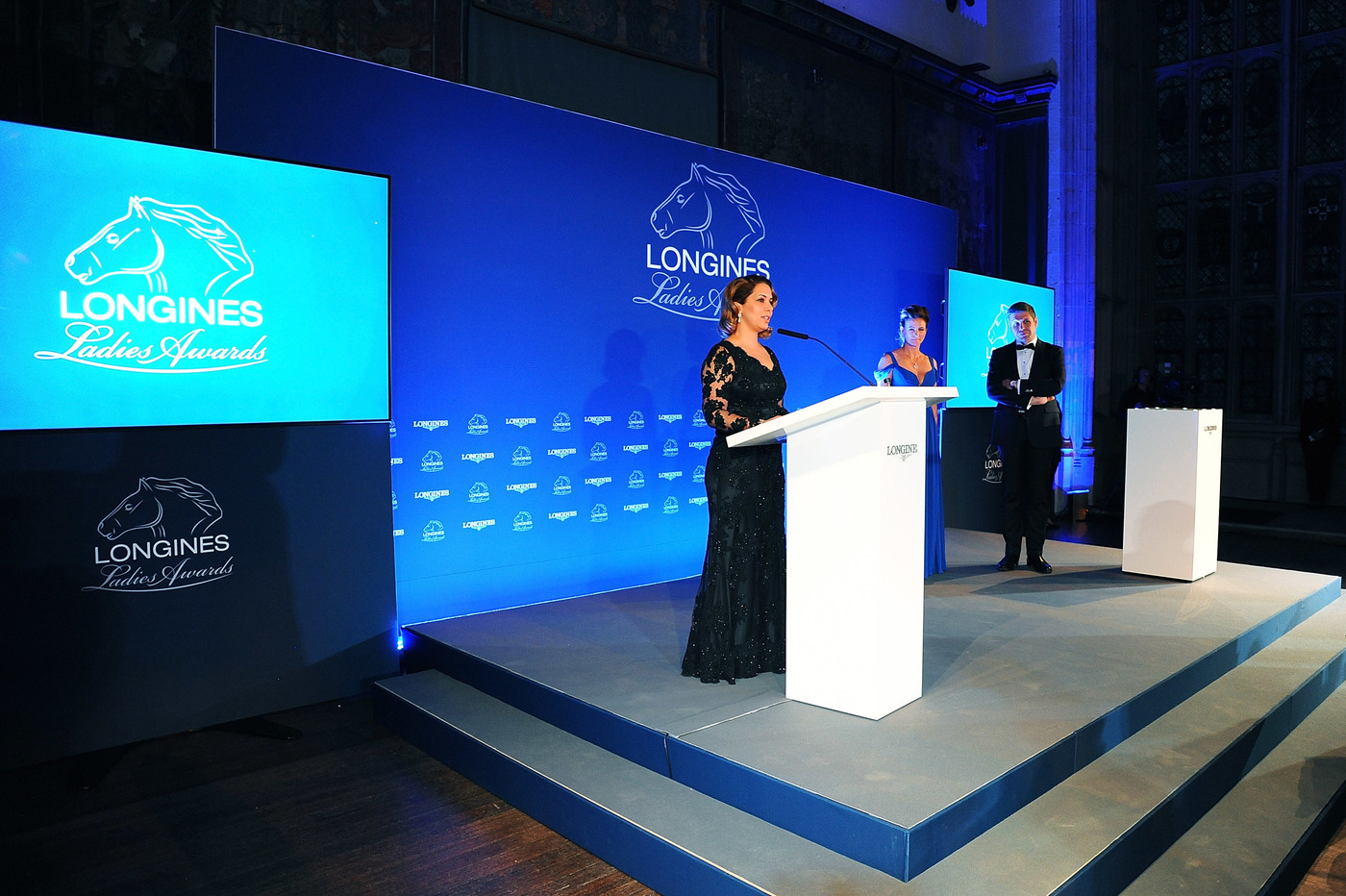 Longines Corporate Event: HRH Princess Haya honoured at the 2015 Longines Ladies Awards ceremony 1