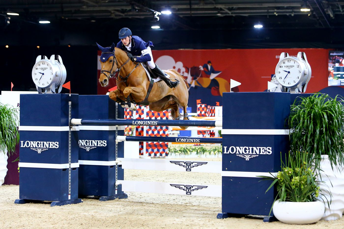 Longines Show Jumping Event: Thrilling emotions during the Longines Speed Challenge, which saw the victory of Daniel Deusser 5