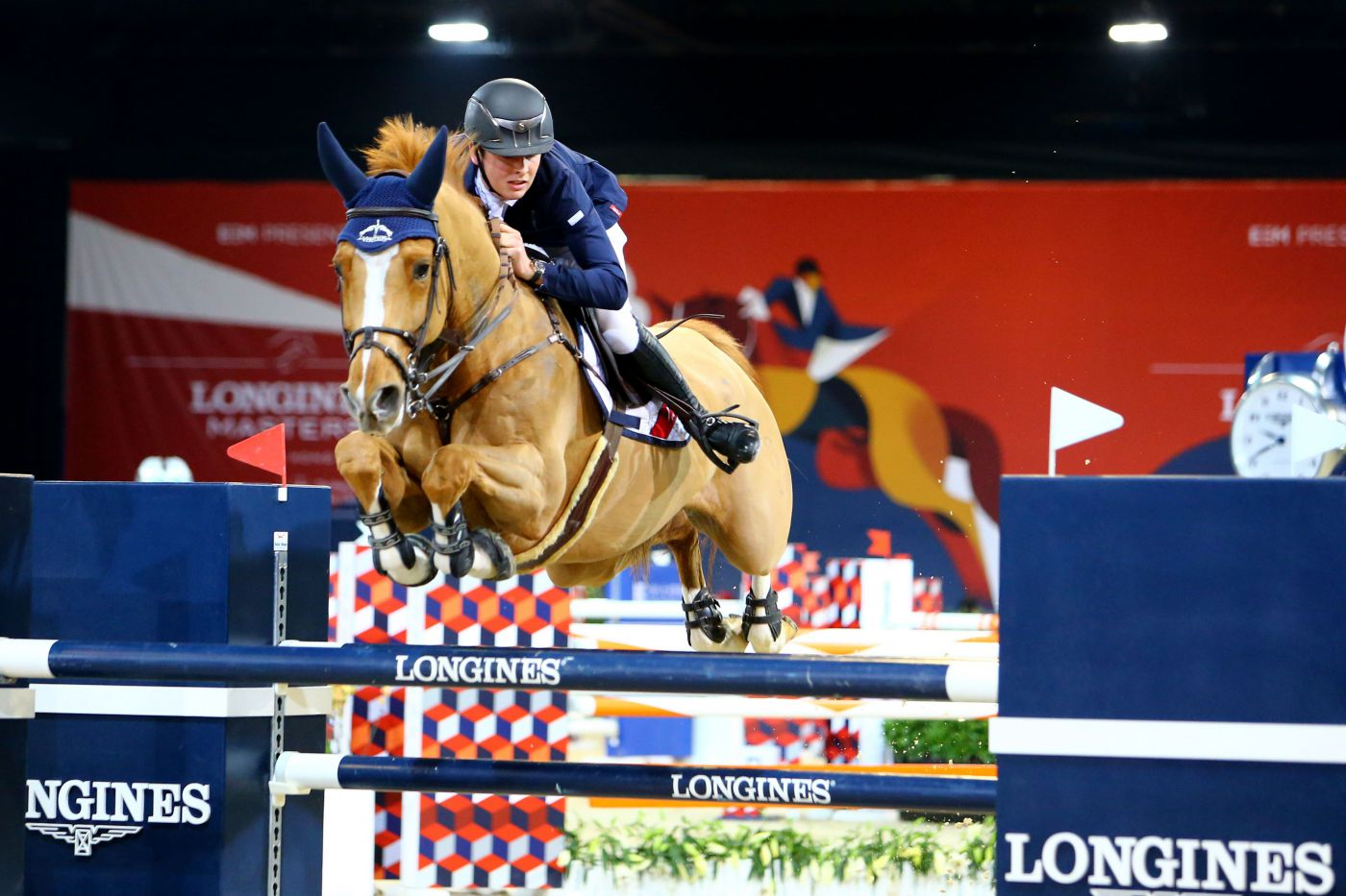 Longines Show Jumping Event: Thrilling emotions during the Longines Speed Challenge, which saw the victory of Daniel Deusser 1
