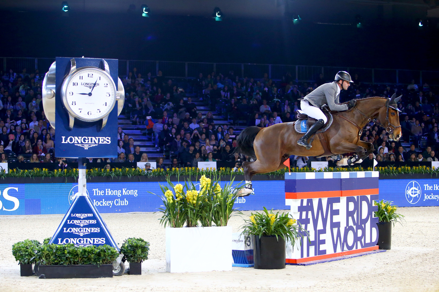 Longines Show Jumping Event: The Longines Masters of Hong Kong: Patrice Delaveau on Aquila HDC takes top class Longines Grand Prix win 11