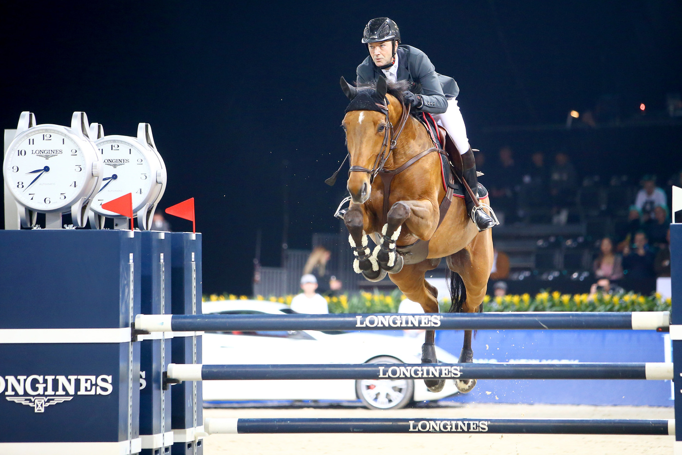 Longines Show Jumping Event: The Longines Masters of Hong Kong: Patrice Delaveau on Aquila HDC takes top class Longines Grand Prix win 9