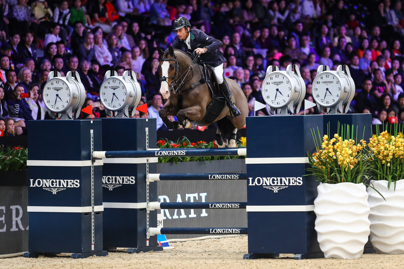 Longines Show Jumping Event: The 2019 Longines Masters of Hong Kong: a perfect mix of sports achievements and glamour  2