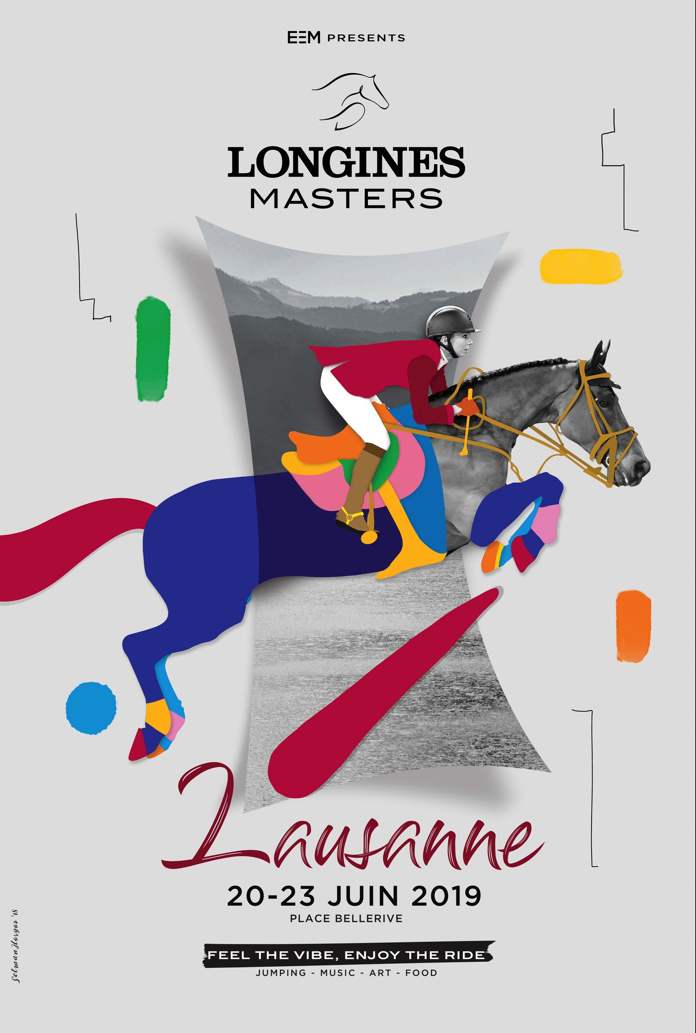 Longines Show Jumping Event: Lausanne, new leg of the Longines Masters Series 1
