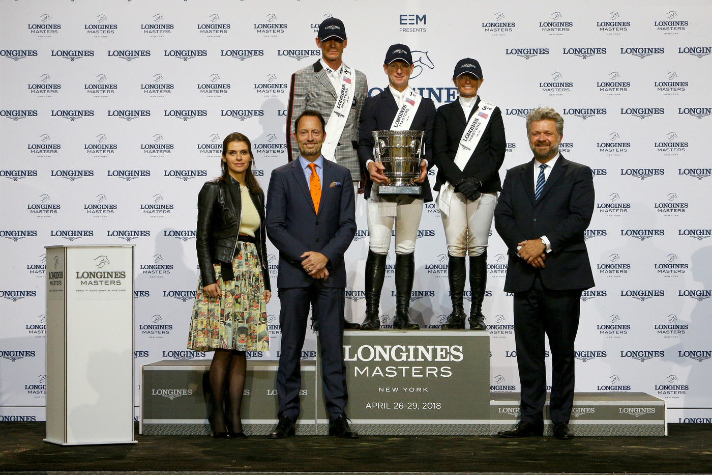 Longines Show Jumping Event: Fantastic McLain Ward takes the first Longines Masters of New York  7