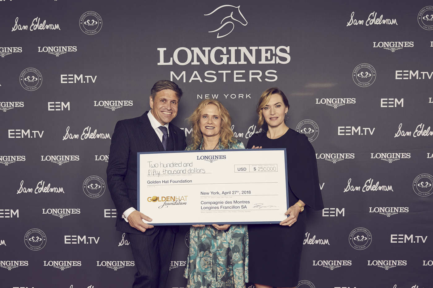 Longines Show Jumping Event: Fantastic McLain Ward takes the first Longines Masters of New York  1