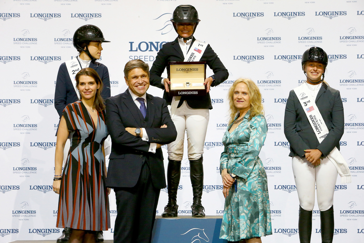Longines Show Jumping Event: Fantastic McLain Ward takes the first Longines Masters of New York  2