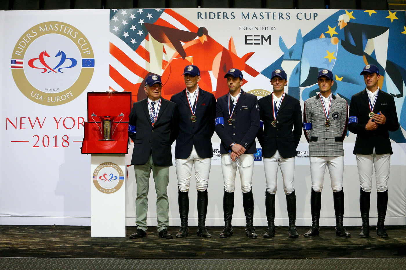 Longines Show Jumping Event: Fantastic McLain Ward takes the first Longines Masters of New York  9