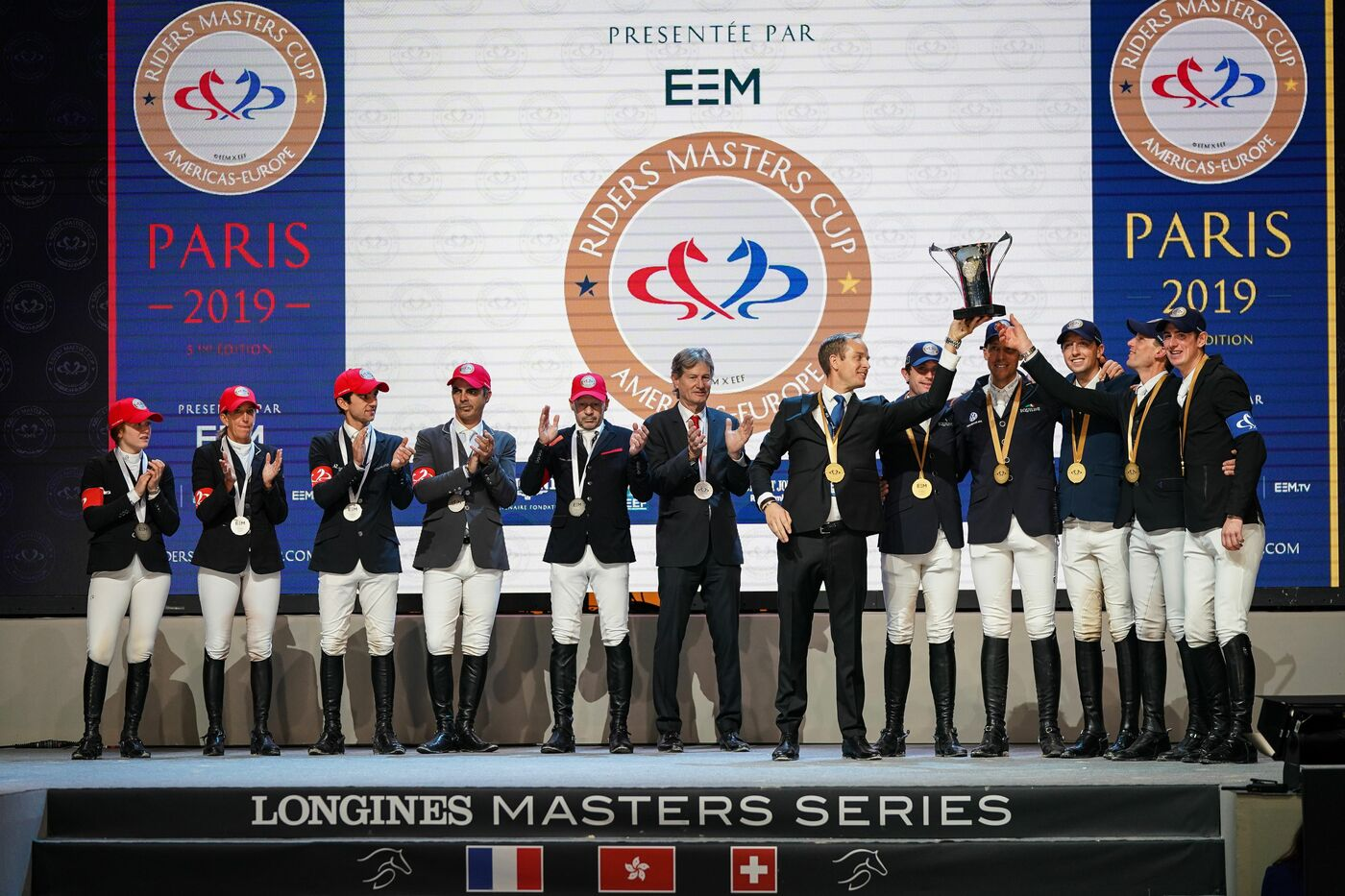 Longines Show Jumping Event: The Longines Masters of Paris: when glamour meets sports performances 2