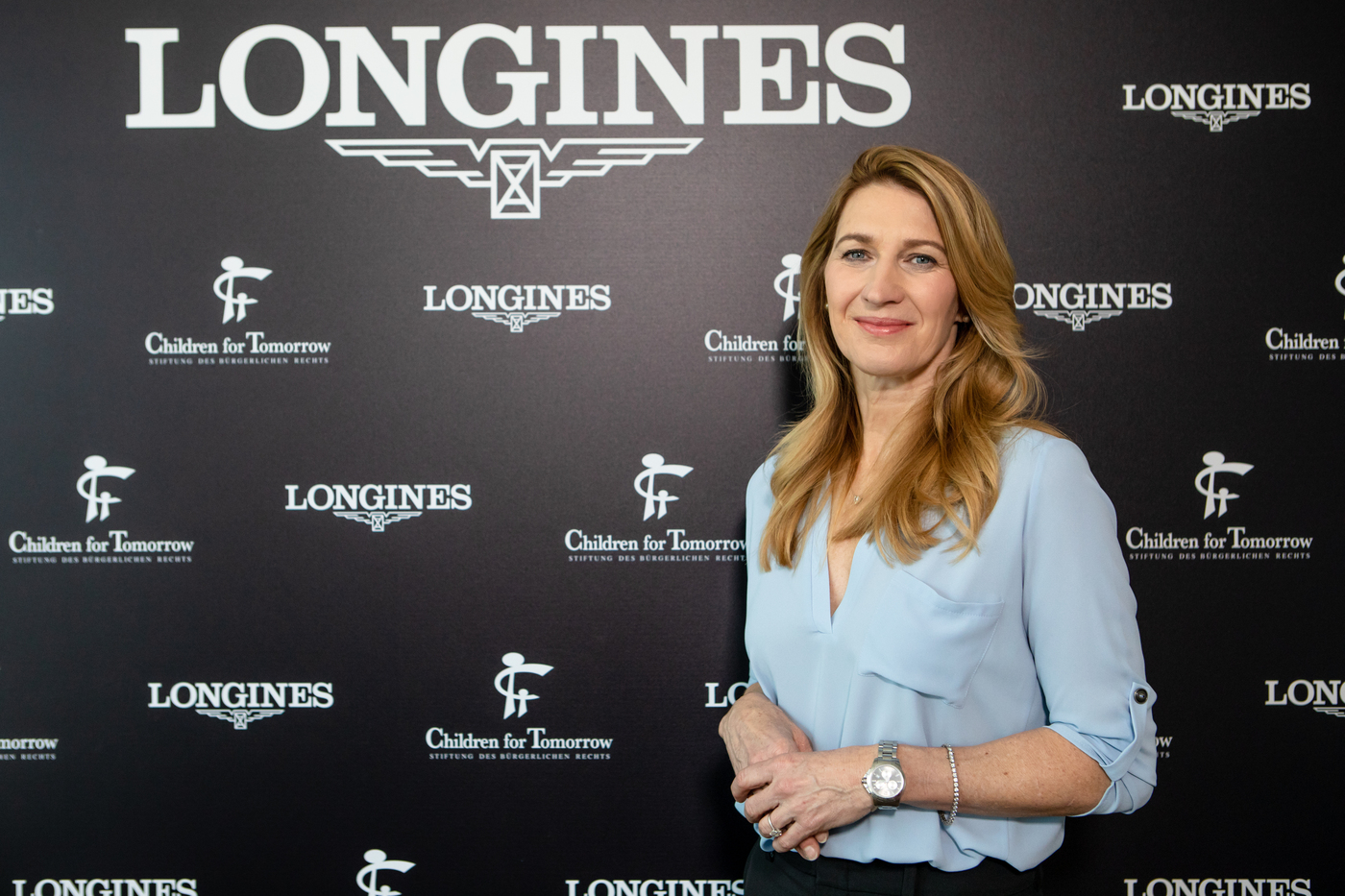 Longines Corporate Event: Longines Ambassador of Elegance Stefanie Graf opens the doors of her foundation in Hamburg 7