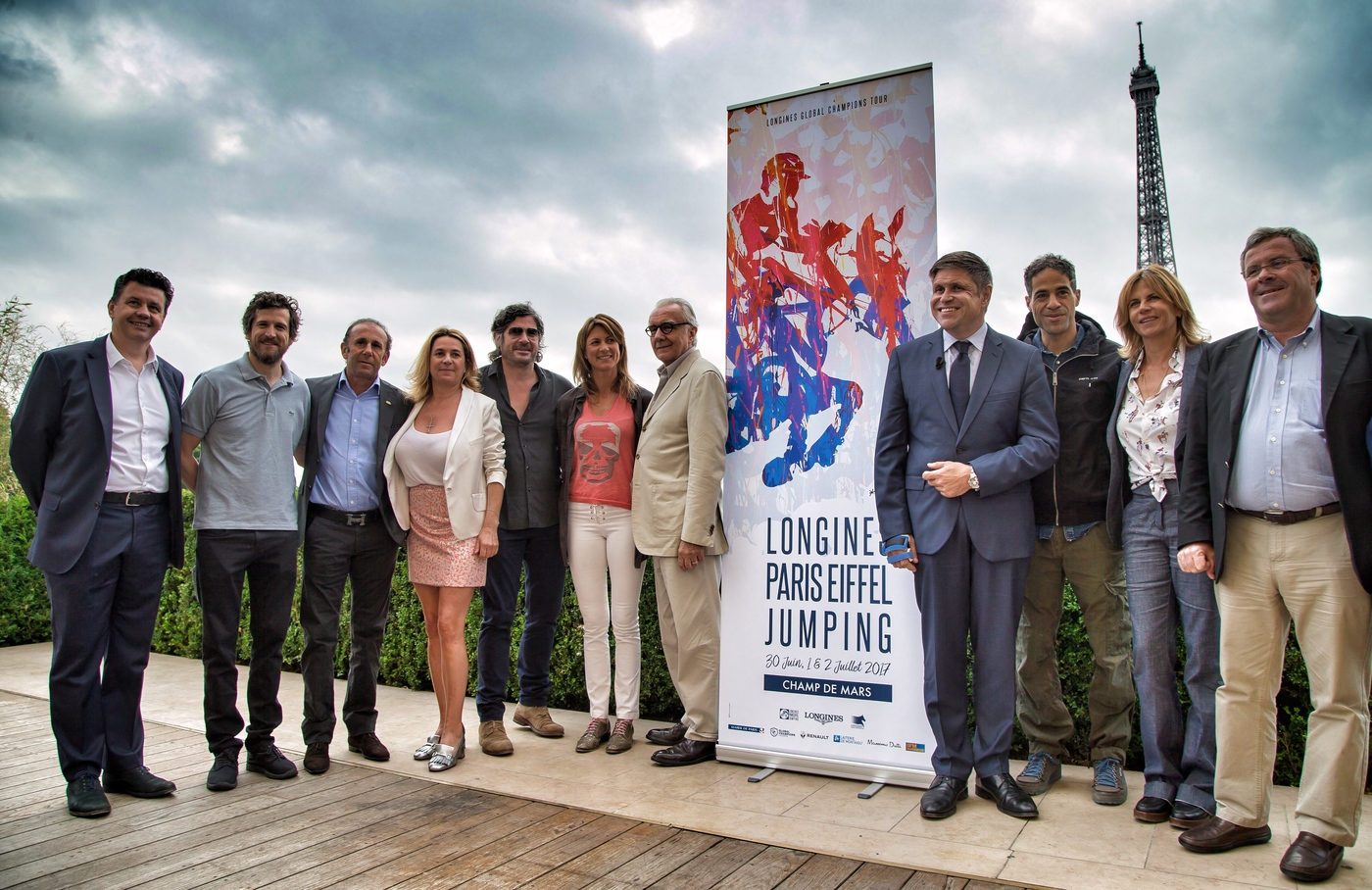 Longines Show Jumping Event: The Longines Paris Eiffel Jumping returns to its iconic location in the very heart of the French capital 3