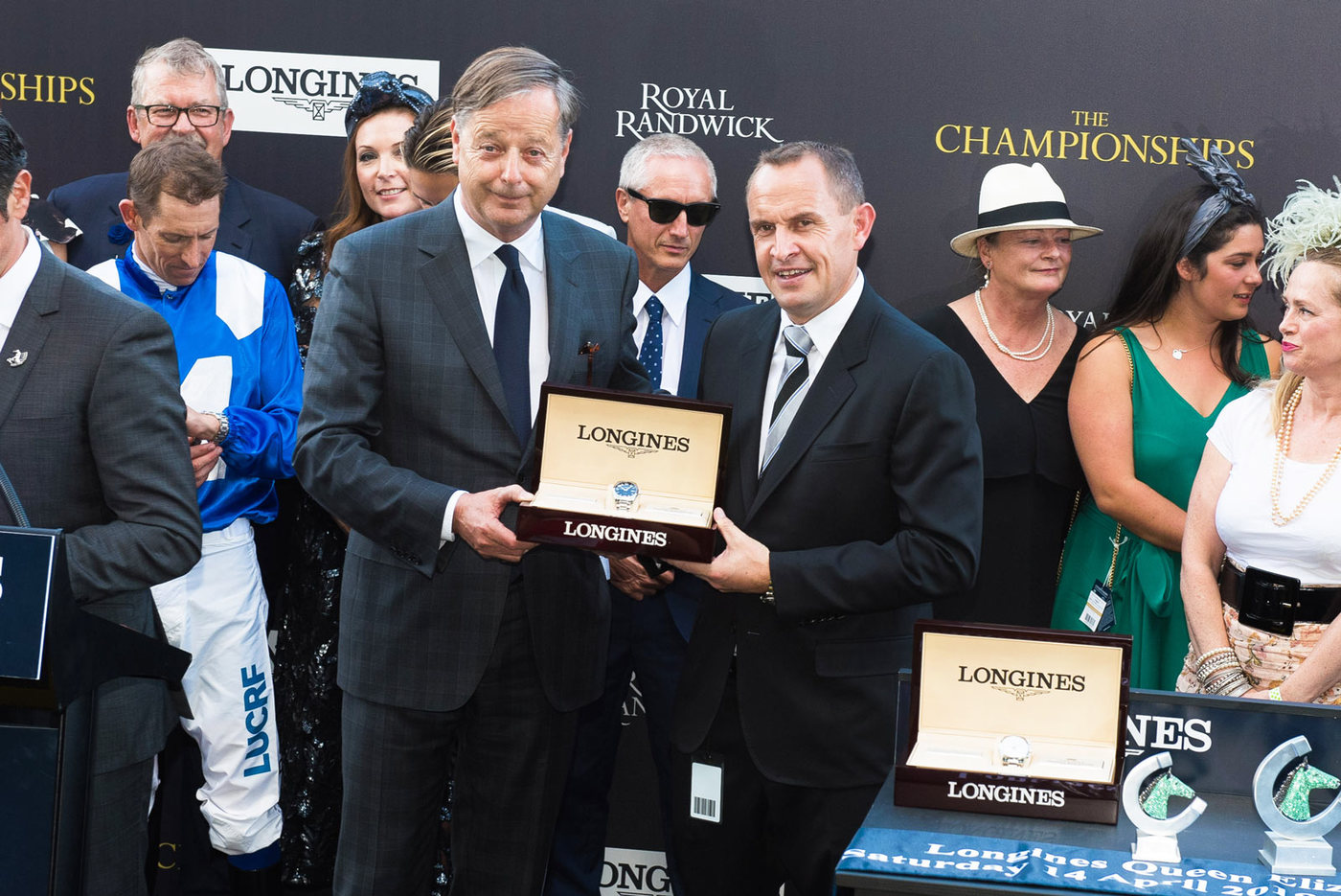 Longines Flat Racing Event: Winx claimed victory at the Longines Queen Elizabeth Stakes 8