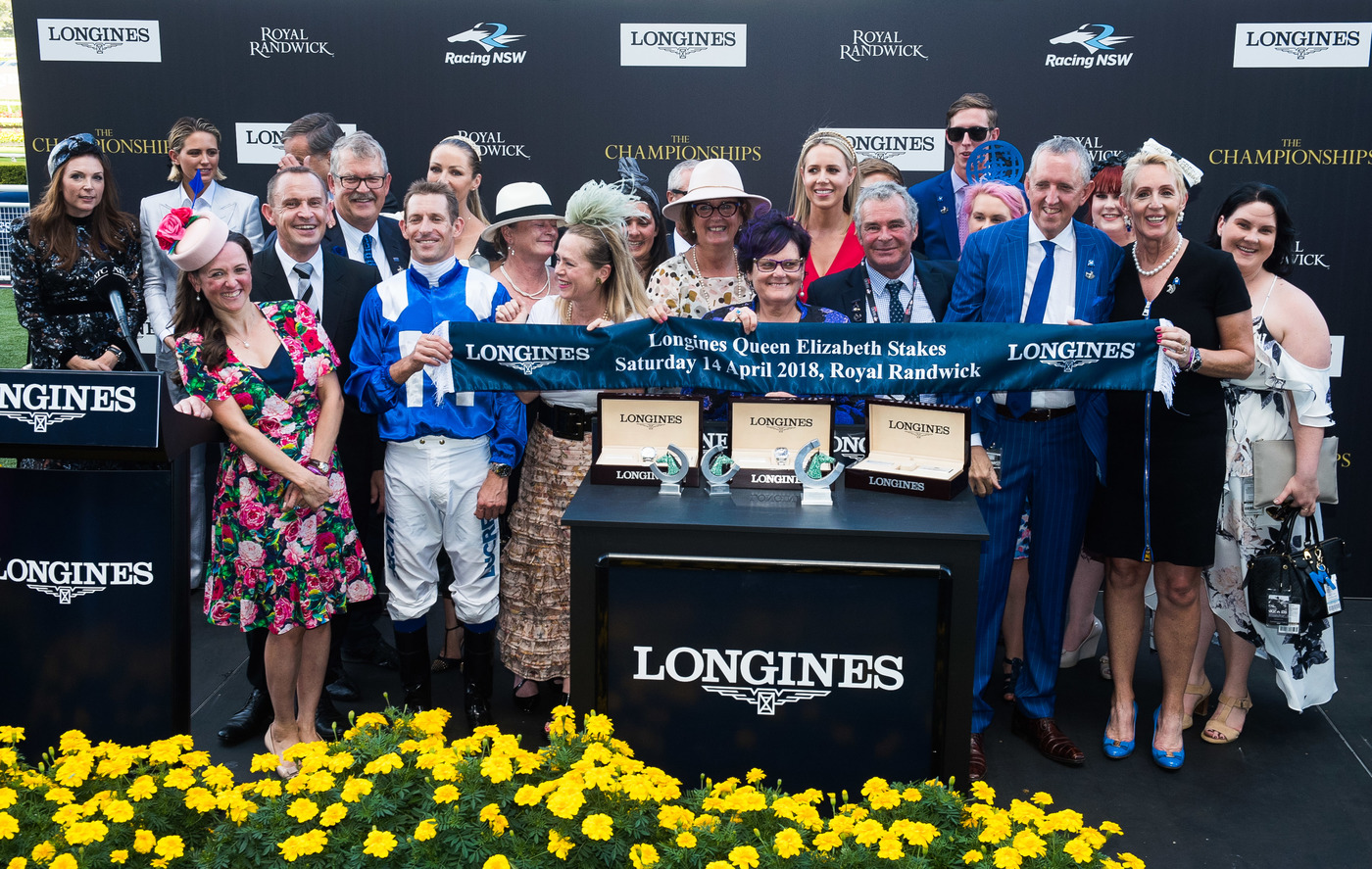 Longines Flat Racing Event: Winx claimed victory at the Longines Queen Elizabeth Stakes 11