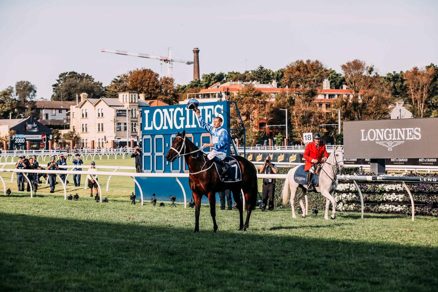 Longines Flat Racing Event: Unforgettable last victory of Winx at the Longines Queen Elizabeth Stakes 6