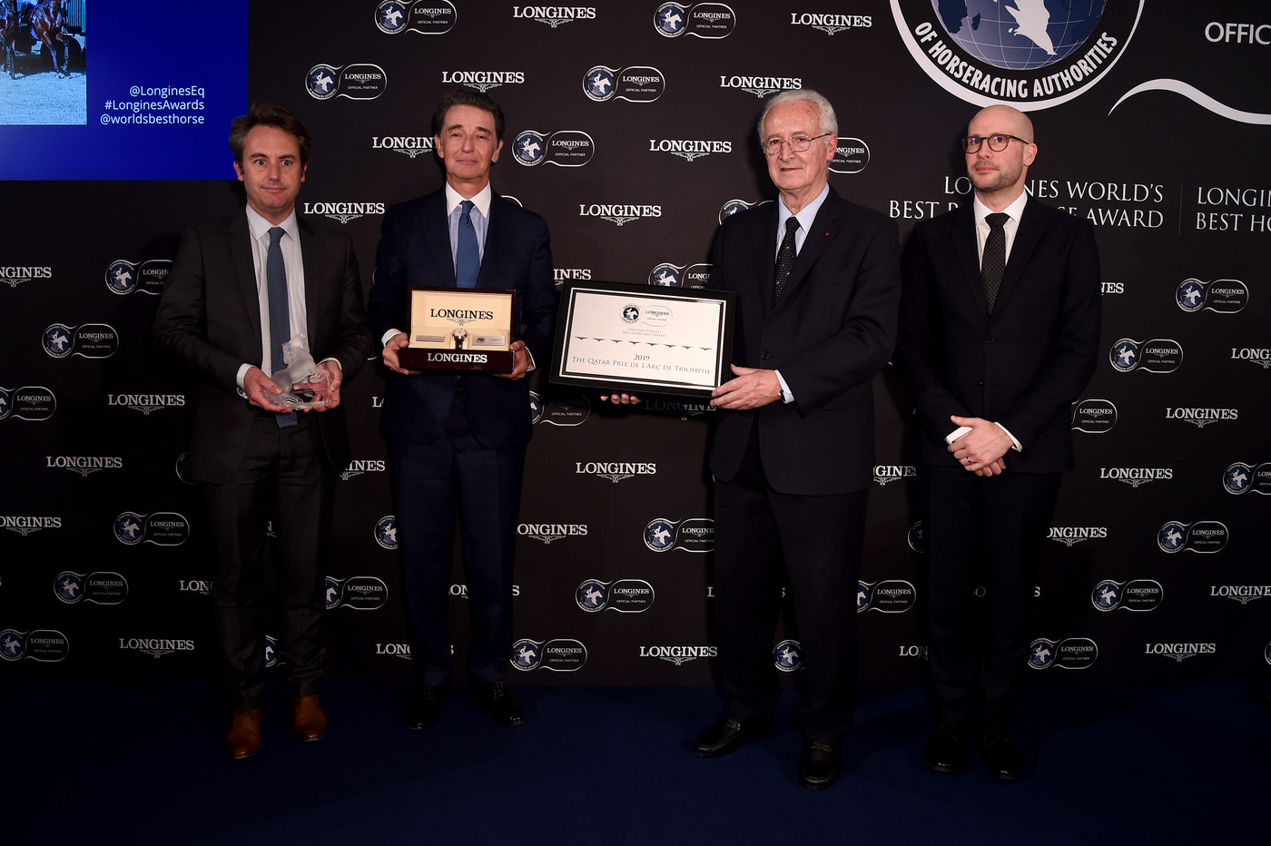 Longines Flat Racing Event: Crystal Ocean, Enable and Waldgeist crowned the 2019 Longines World's Best Racehorses, Qatar Prix de l'Arc de Triomphe named Longines World's Best Horse Race for the fourth time 10