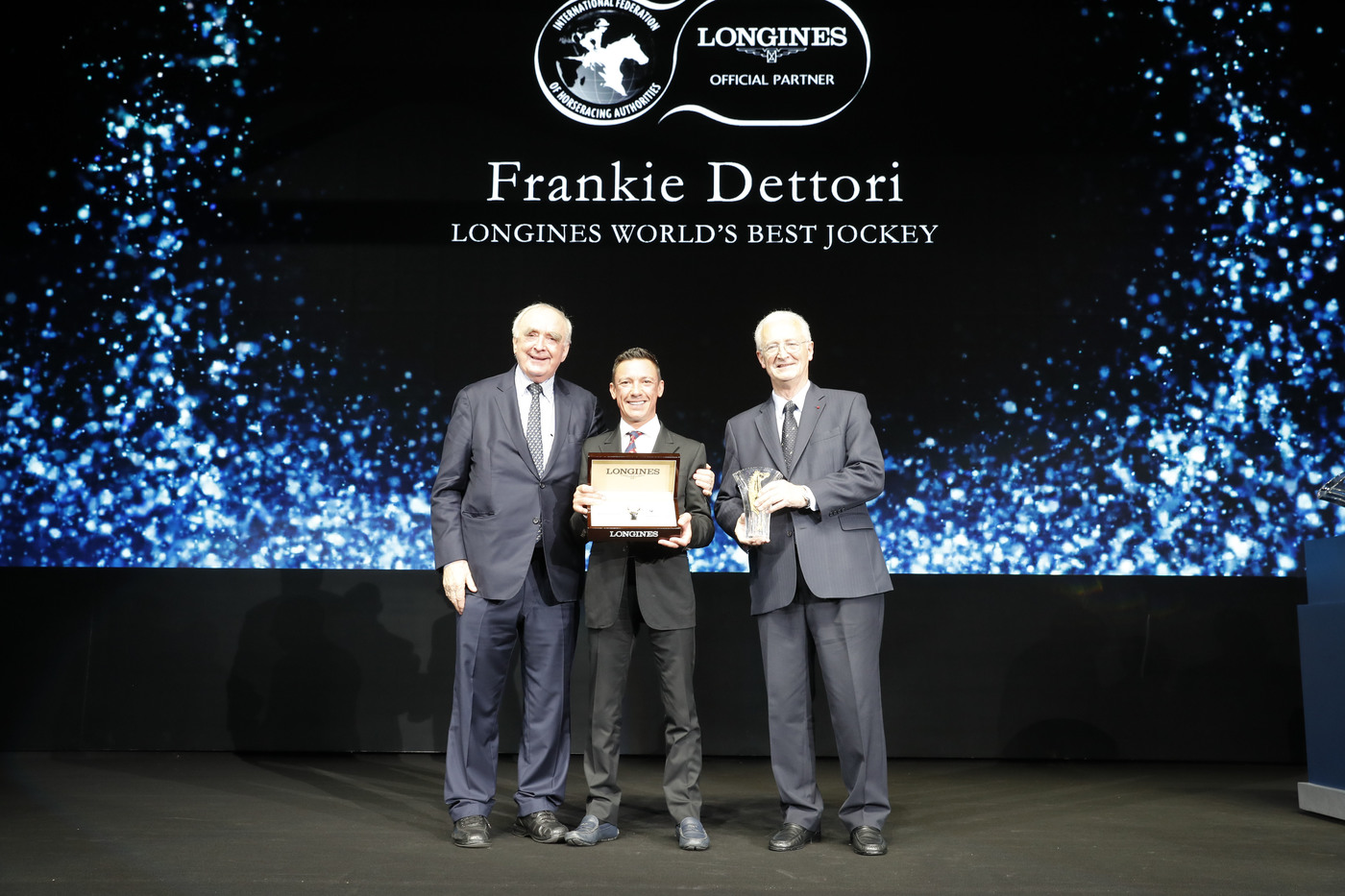 Longines Flat Racing Event: Frankie Dettori Crowned the 2018 Longines World's Best Jockey  3