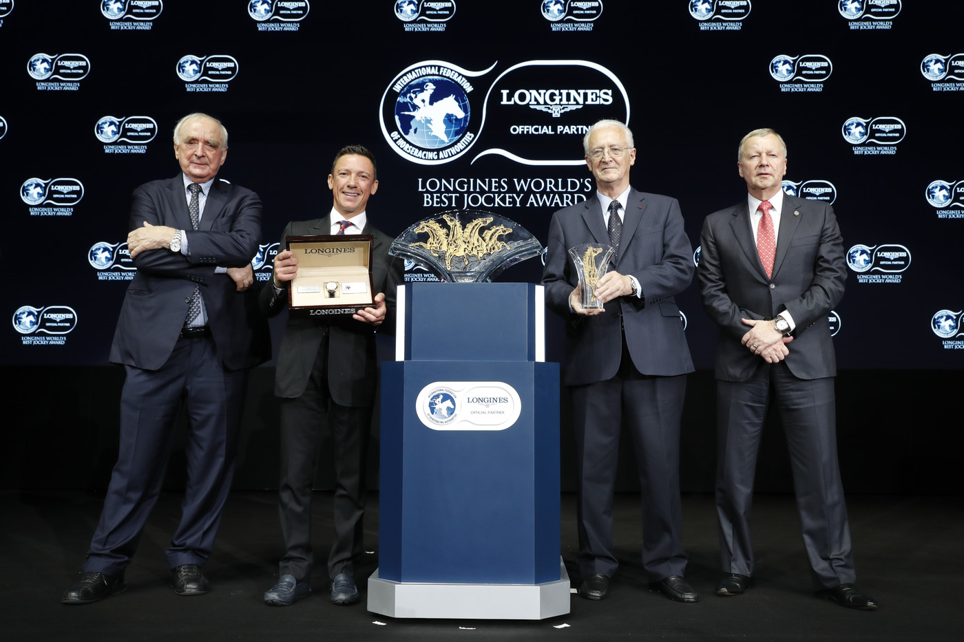 Longines Flat Racing Event: Frankie Dettori Crowned the 2018 Longines World's Best Jockey  4