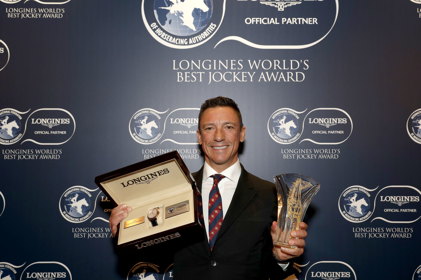 Longines Flat Racing Event: Frankie Dettori Crowned the 2018 Longines World's Best Jockey  7