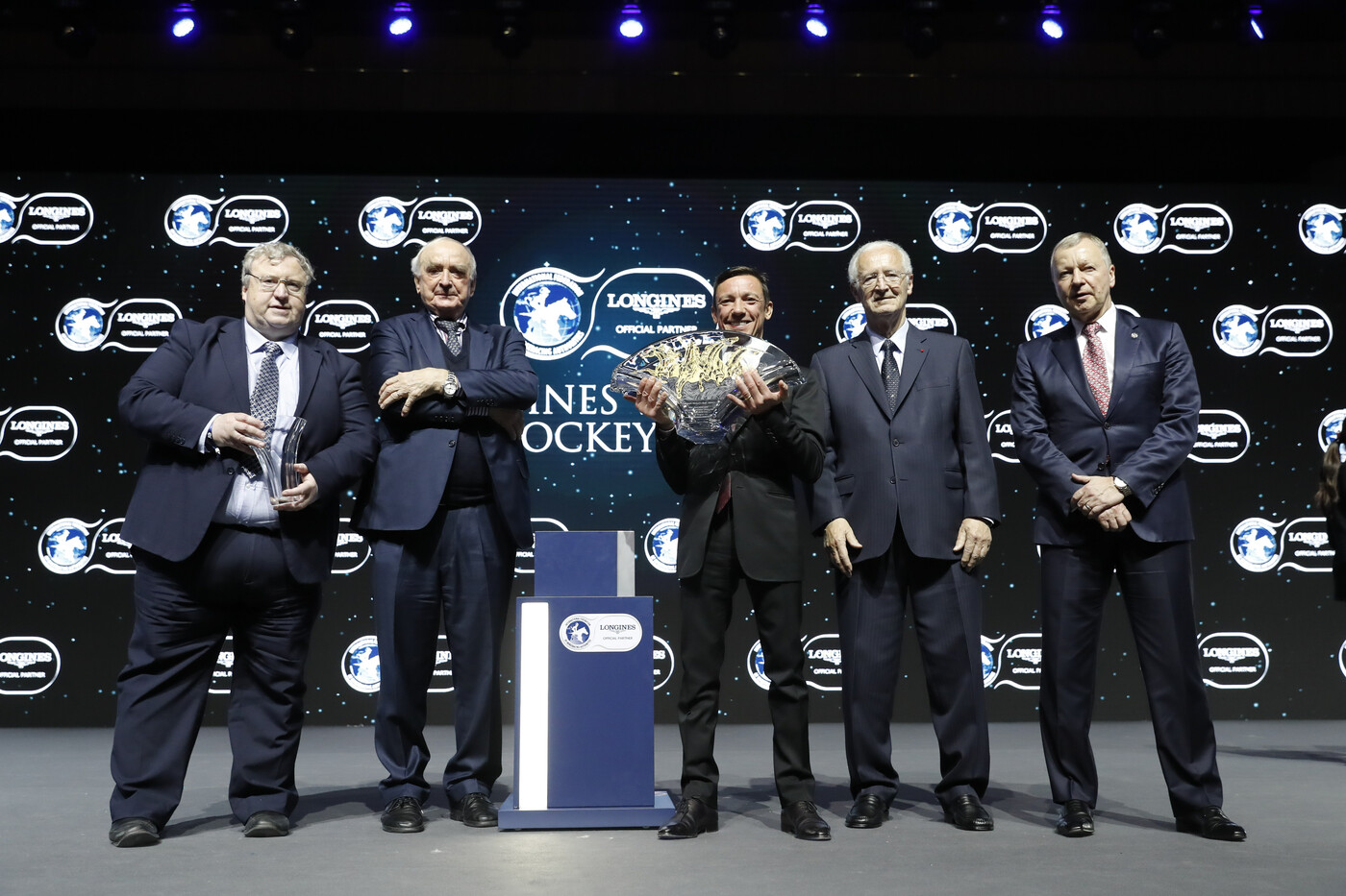 Longines Flat Racing Event: Frankie Dettori Celebrated as the 2019 Longines World's Best Jockey 1
