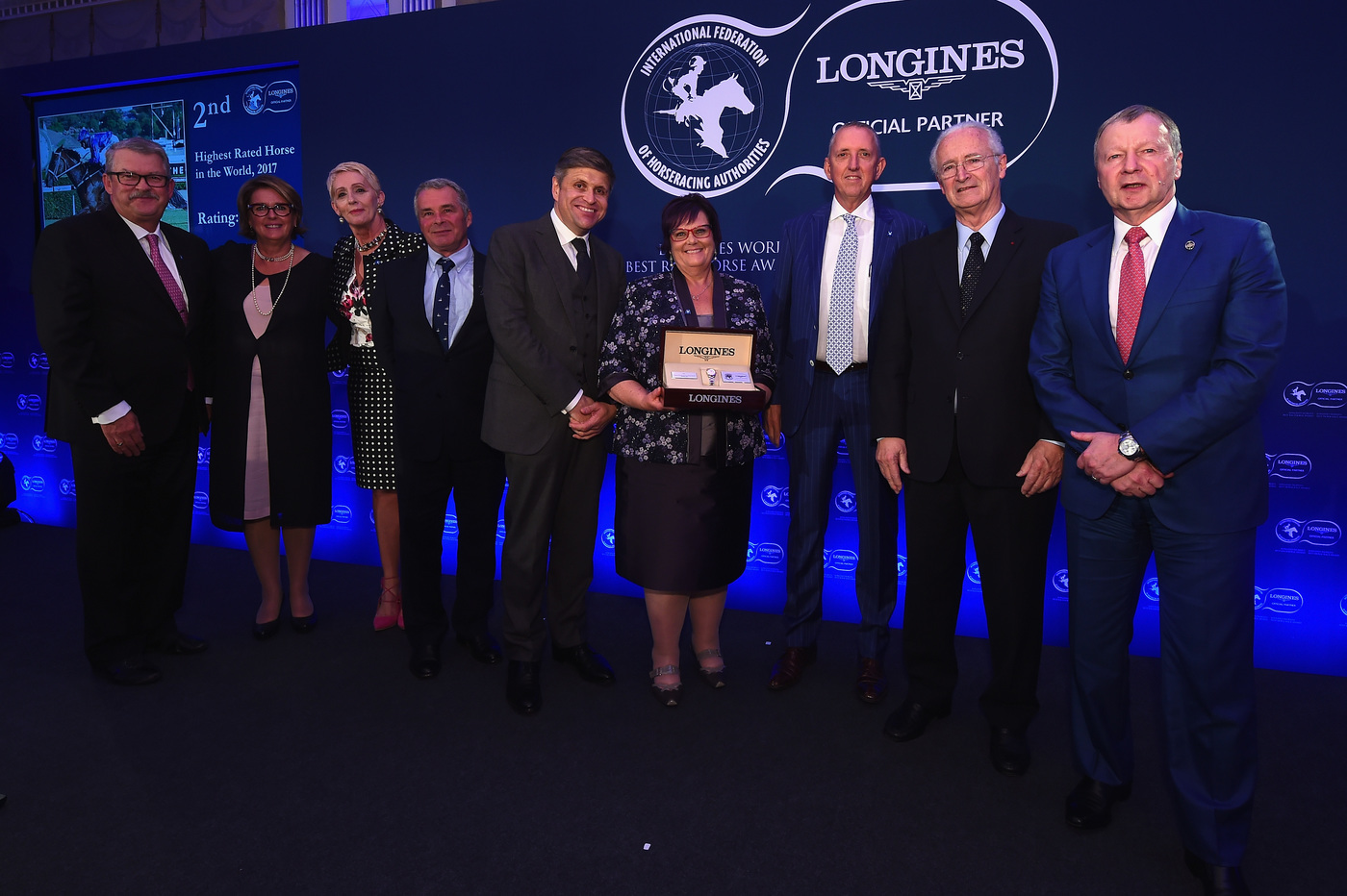 Longines Flat Racing Event: Arrogate crowned the Longines World's Best Racehorse for the second year in a row, Qatar Prix de l'Arc de Triomphe named Longines World's Best Horse Race for the second time 3