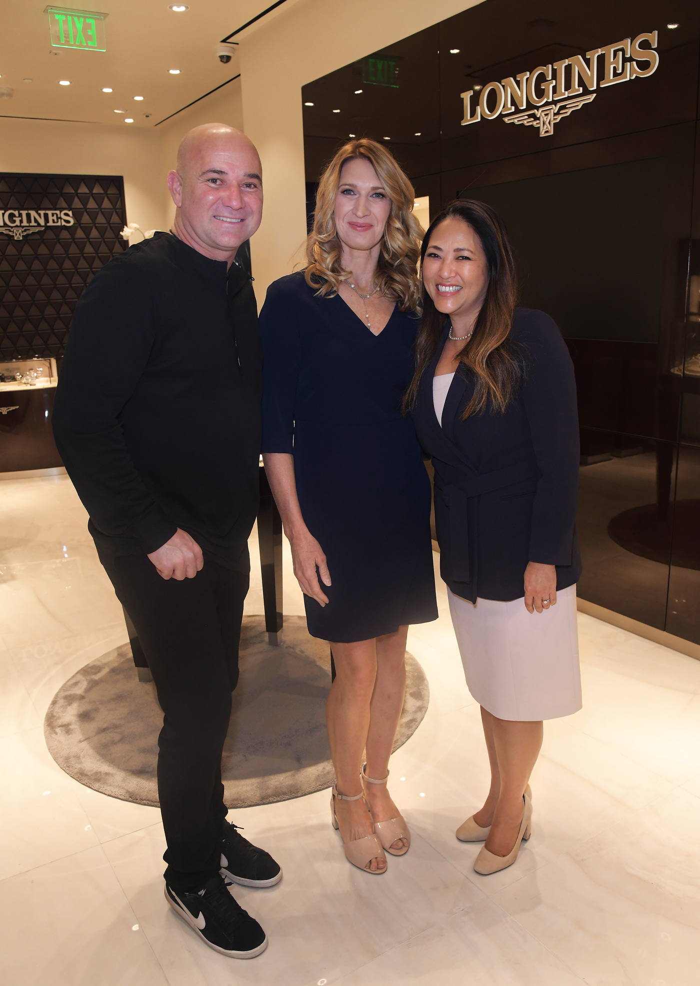 Longines Corporate Event: Andre Agassi and Stefanie Graf inaugurate Longines' new sales corner in Las Vegas  1