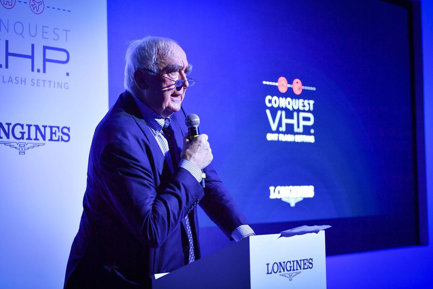 Longines Corporate Event: Longines presents the new Conquest V.H.P. GMT Flash Setting:  the watch made for frequent travelers 10