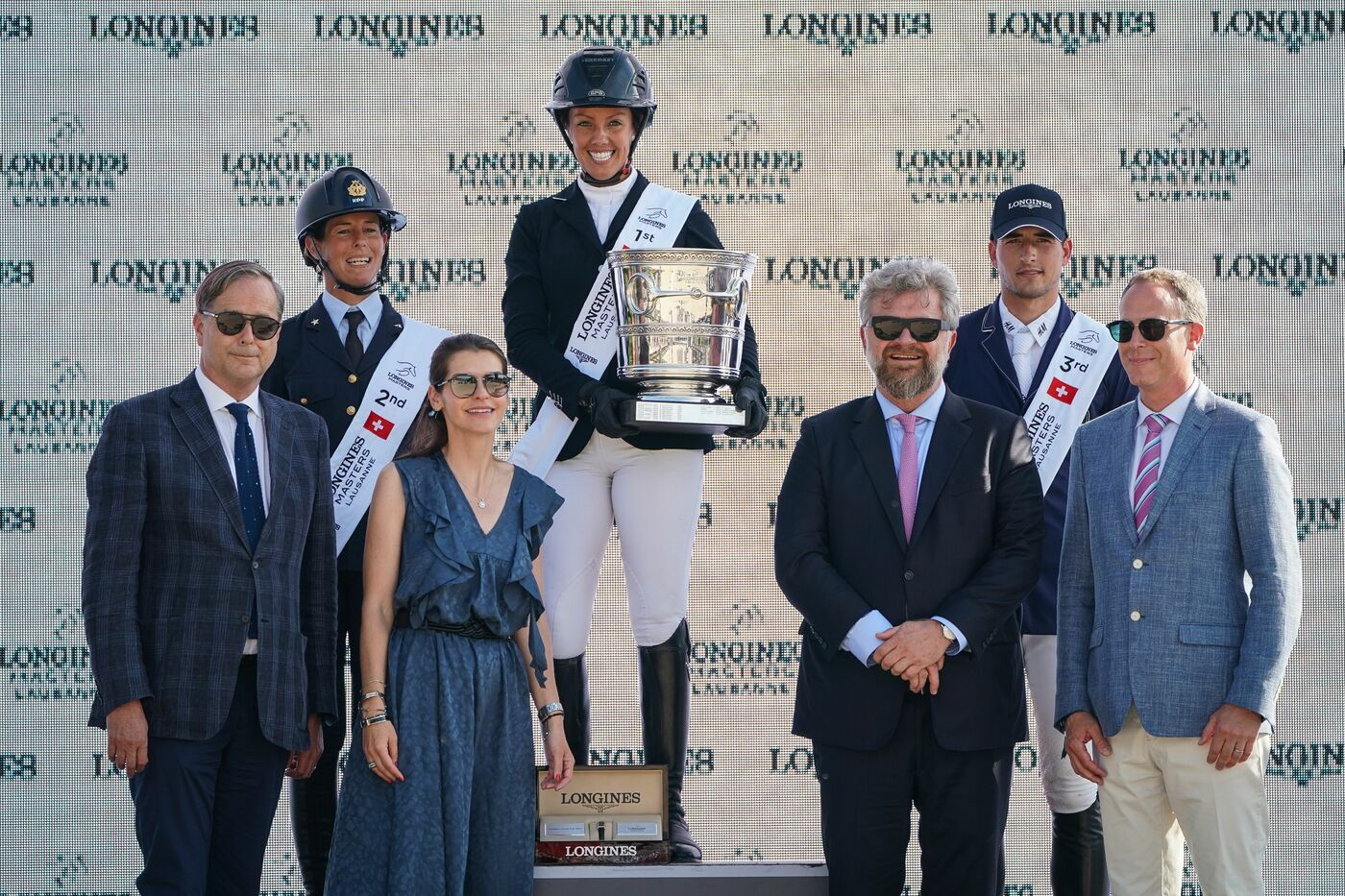 Longines Show Jumping Event: The first Swiss edition of the Longines Masters smiles upon Gudrun Patteet 8