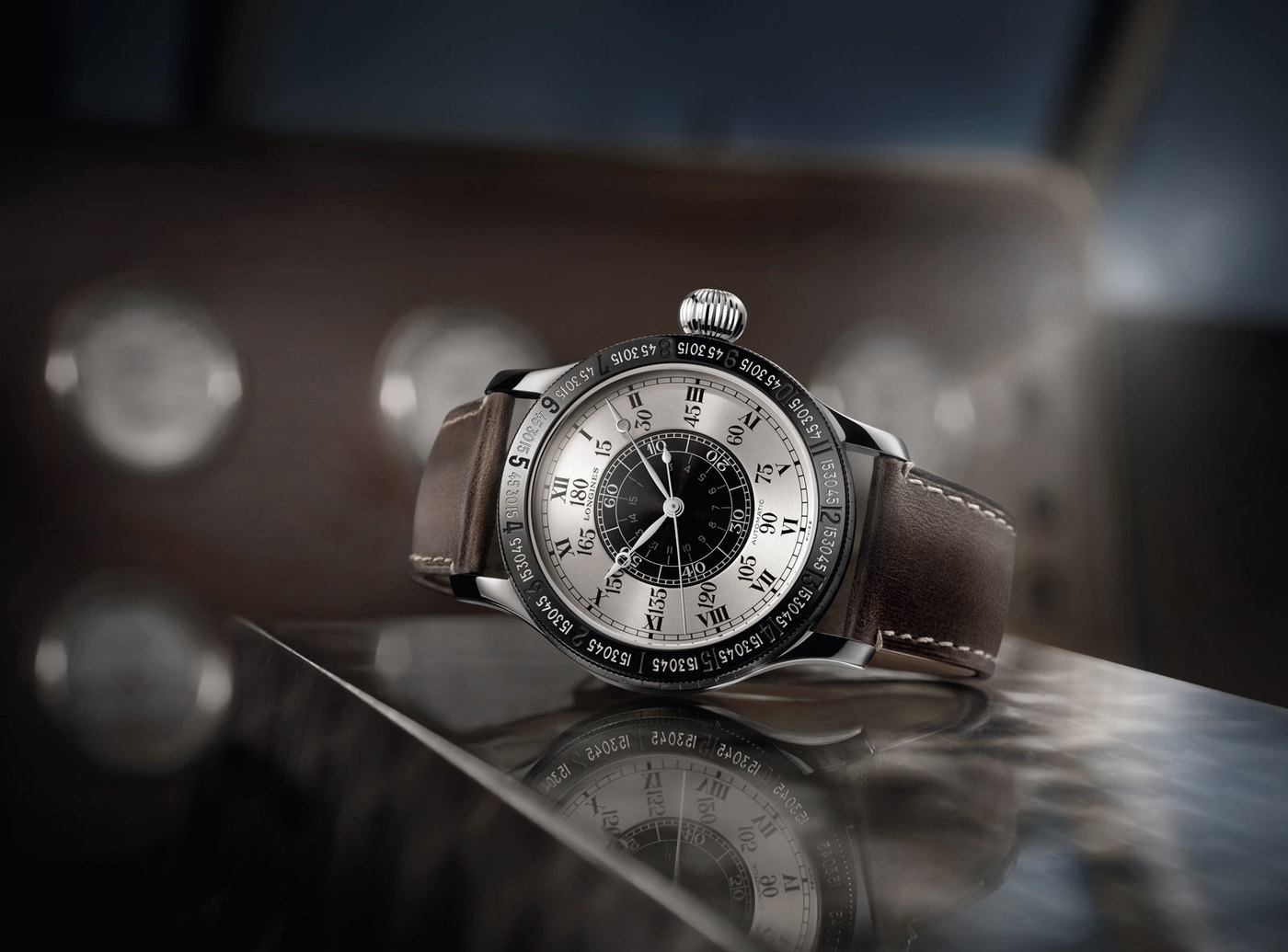 Longines Corporate Event: 90 years ago, Longines timed the amazing first solo transatlantic flight by Charles Lindbergh 3
