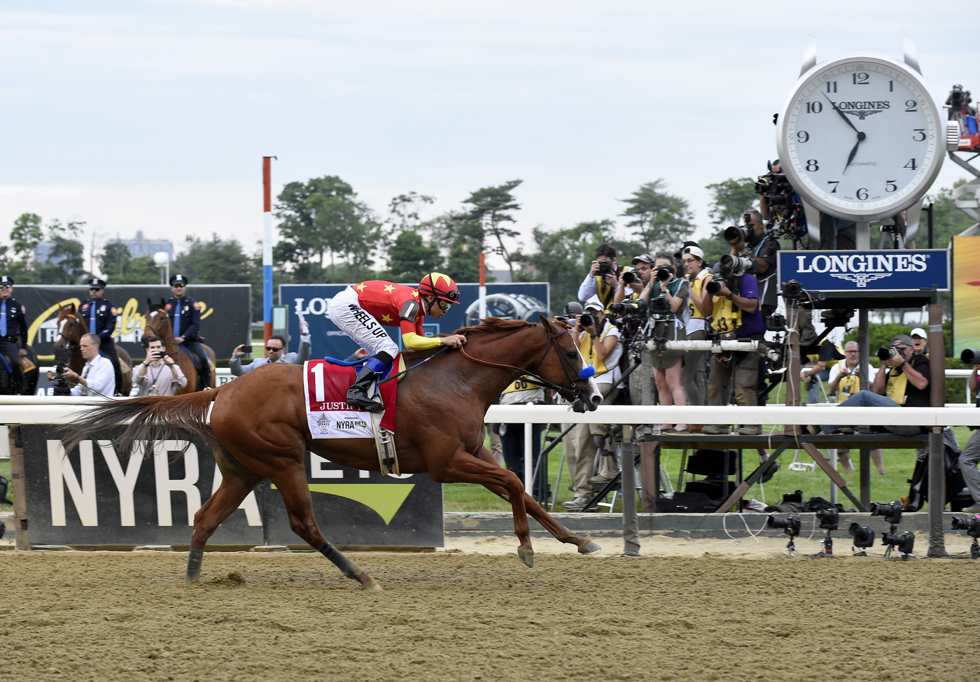 Longines Flat Racing Event: Longines to continue as Official Timekeeper and Official Watch of Belmont Park and Saratoga Race Course 2