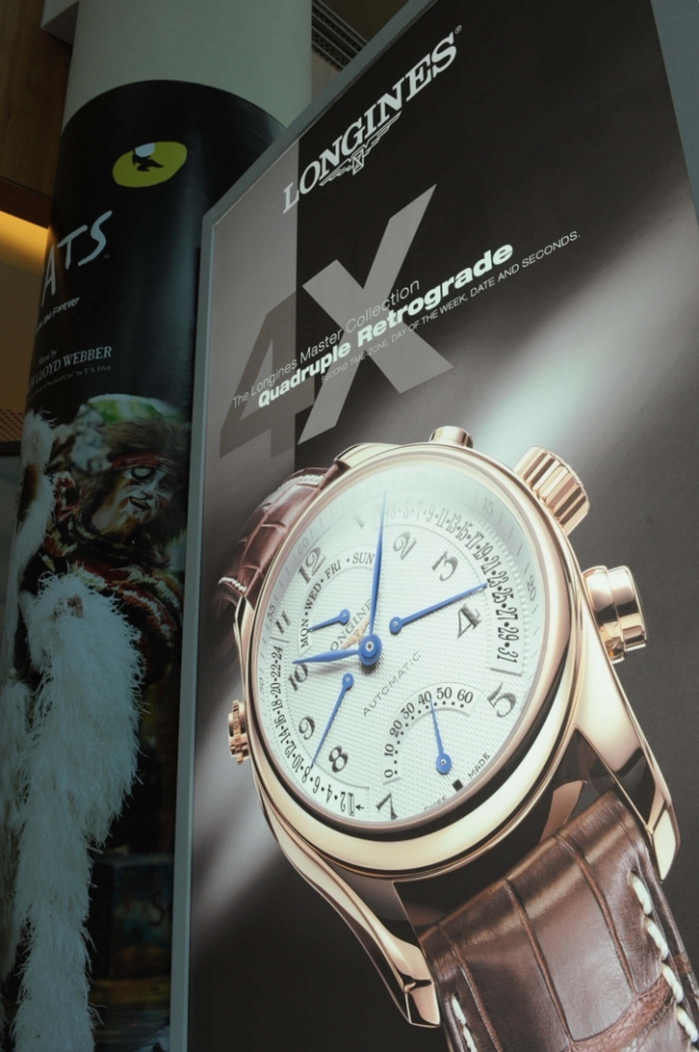 Longines Corporate Event: Longines Master Collection Retrograde, the official watch of CATS 9
