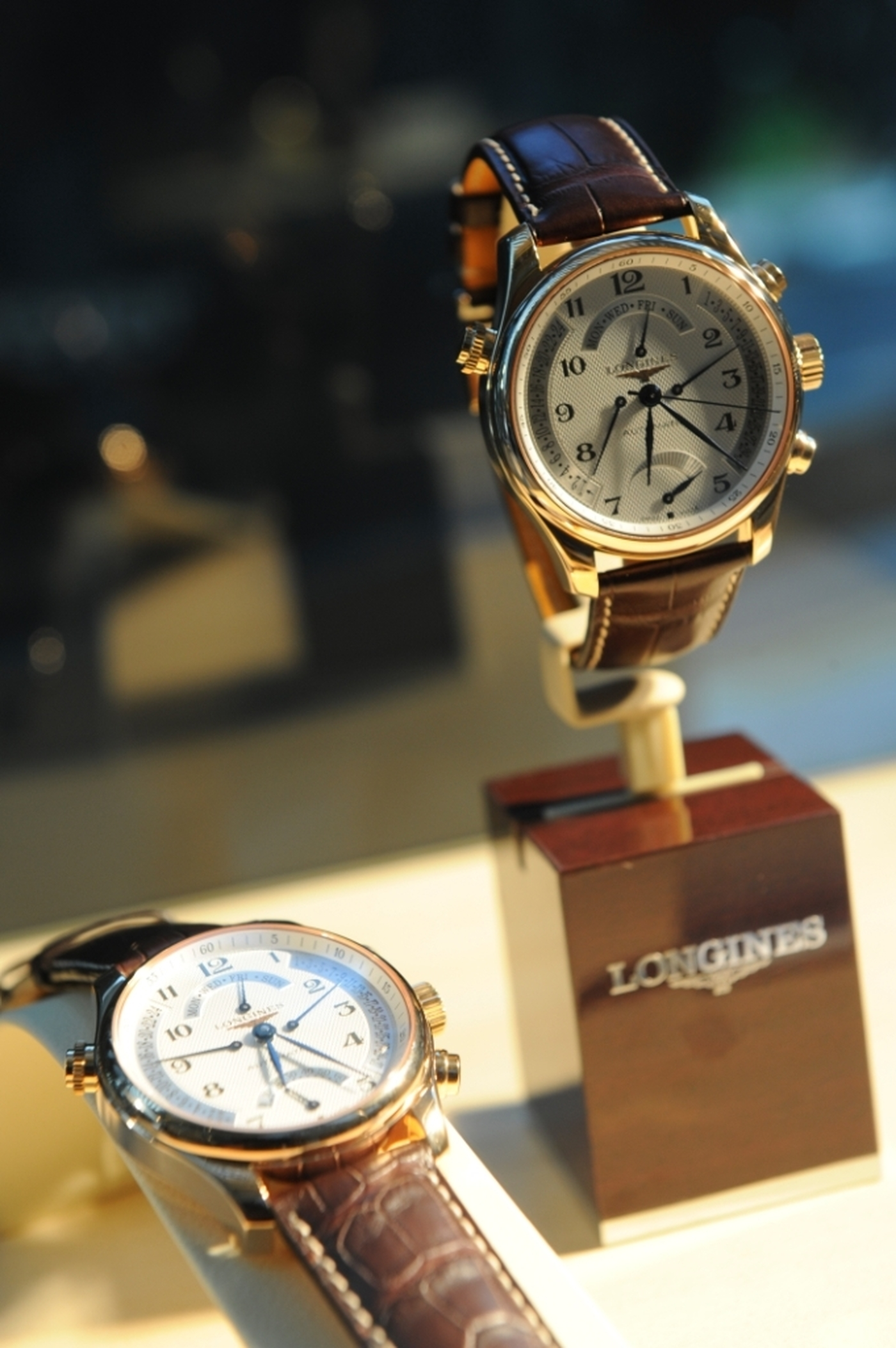 Longines Corporate Event: Longines Master Collection Retrograde, the official watch of CATS 8