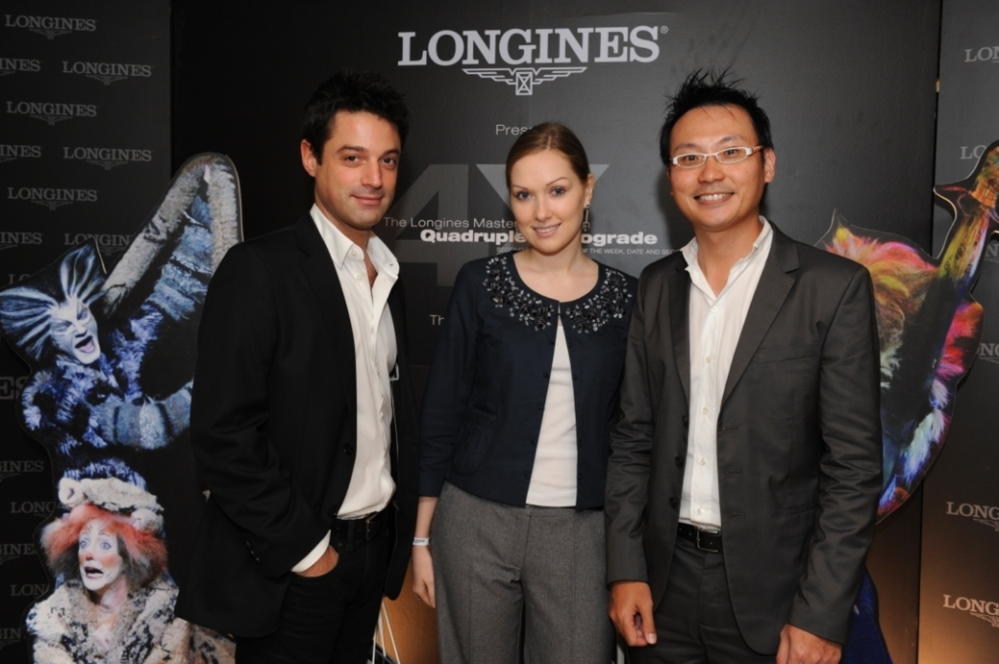 Longines Corporate Event: Longines Master Collection Retrograde, the official watch of CATS 7