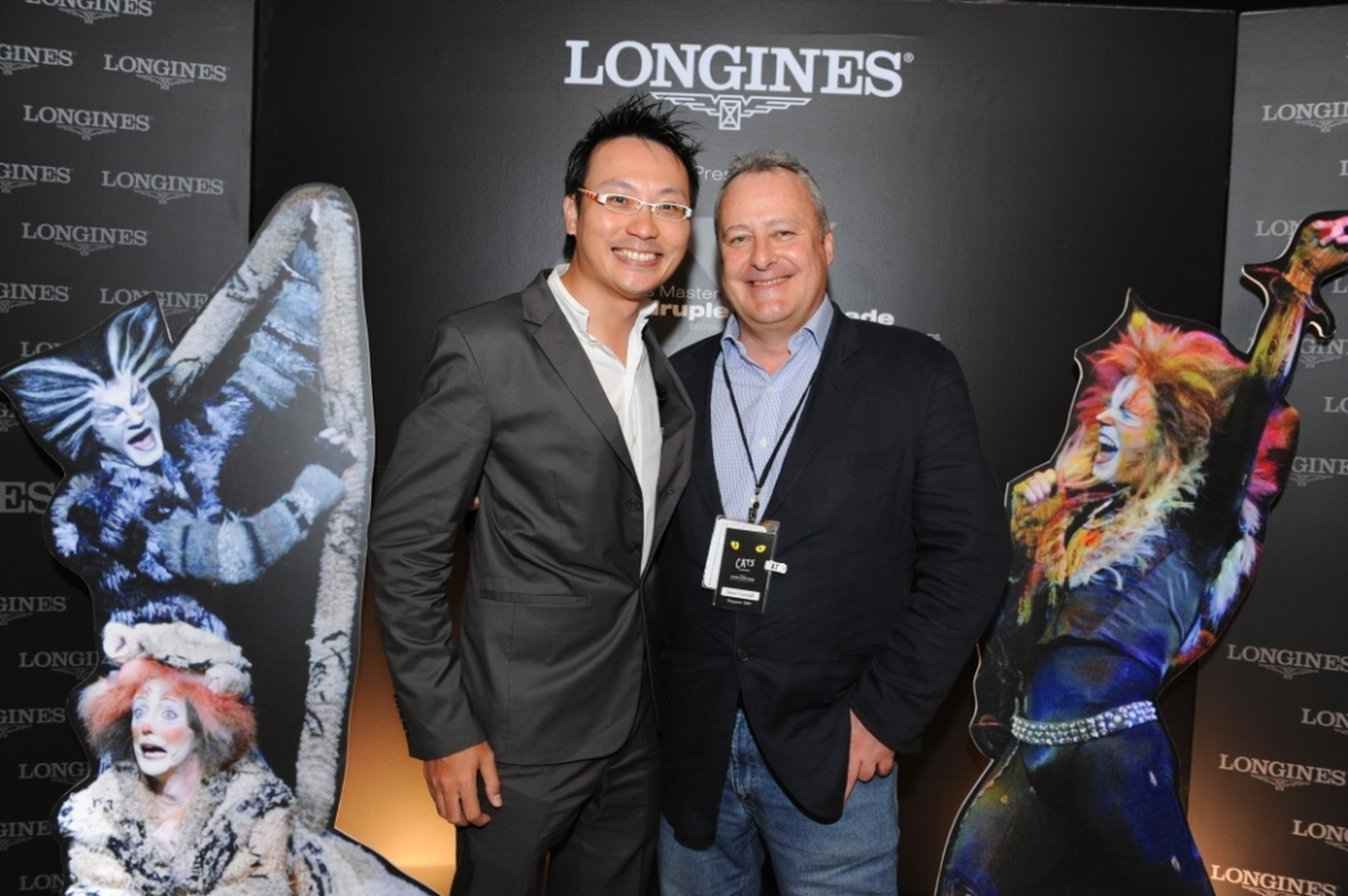 Longines Corporate Event: Longines Master Collection Retrograde, the official watch of CATS 6