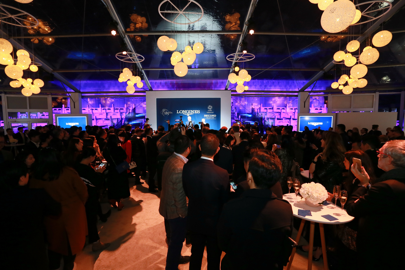 Longines Corporate Event: Longines launches new Record collection and celebrates its 185th Anniversary in Beijing 2