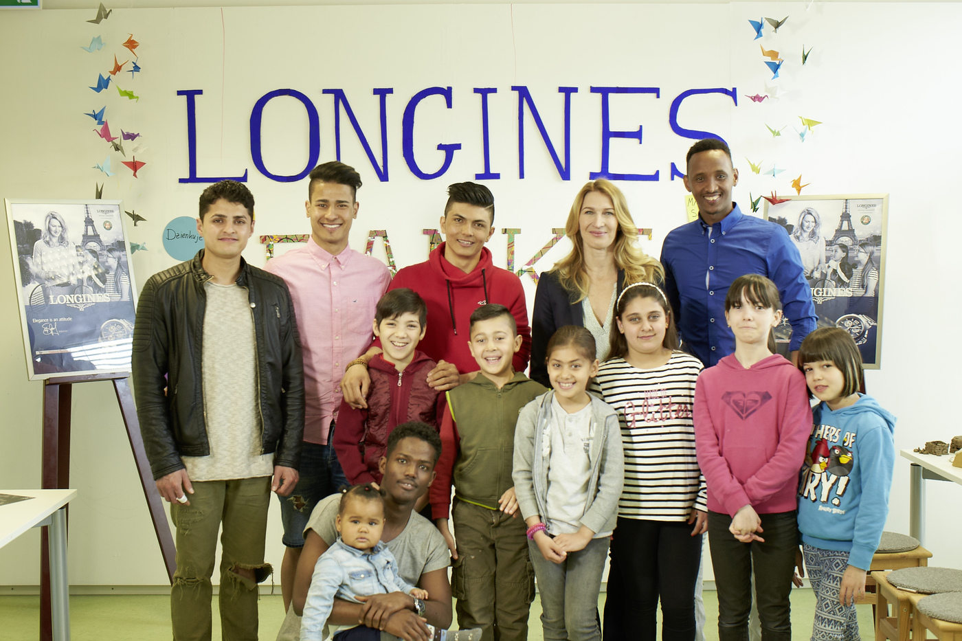 Longines Corporate Event: Children for Tomorrow welcomes Longines to the foundation's headquarters in the presence of Ambassador of Elegance Stefanie Graf 6