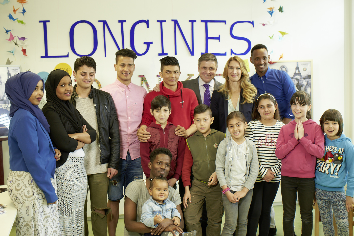 Longines Corporate Event: Children for Tomorrow welcomes Longines to the foundation's headquarters in the presence of Ambassador of Elegance Stefanie Graf 5